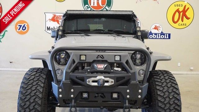 2015 Jeep Wrangler Unlimited Rubicon 4X4 KEVLAR,SUPERCHARGED,SLANT TOP,ALPINE!
