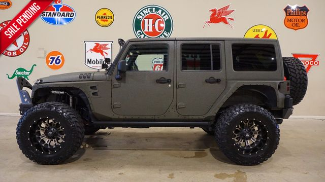 2015 Jeep Wrangler Unlimited Sport 4X4 FMJ,LIFTED,NAV,LTH,FUEL WHLS,36K