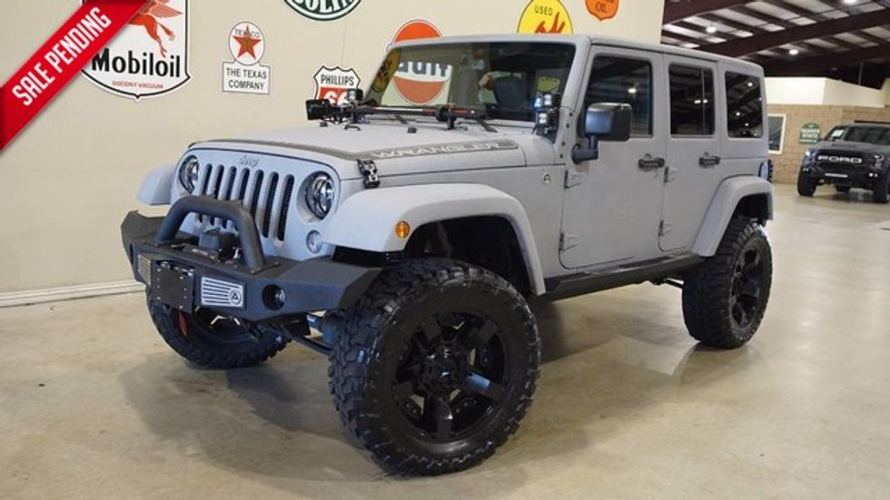 Jeep Wrangler Lifted >> 2015 Jeep Wrangler Unlimited Sport 4x4 Custom Kevlar Lifted Htd Lth