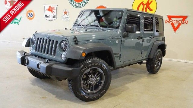 2015 Jeep Wrangler Unlimited Sport 4X4 AUTO,LED'S,CLOTH,17IN WHLS,37K,WE FIN...