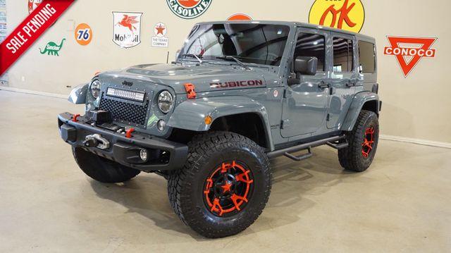 2015 Jeep Wrangler Unlimited Rubicon Hard Rock 4X4 LIFT,NAV,HTD LTH,ALPINE,54K!