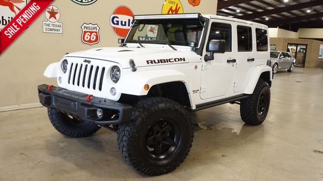 2015 Jeep Wrangler Unlimited Rubicon Hard Rock 4X4 LIFTED,NAV,LTH,LED'S,28K