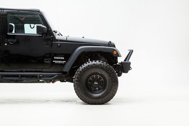 2015 Jeep Wrangler Unlimited Sport Lifted With Upgrades in , TX 75006