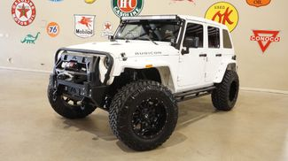 2015 Jeep Wrangler Unlimited Rubicon 4X4 DUPONT KEVLAR,SLANT BACK,LIFT,LED'S in Carrollton, TX 75006