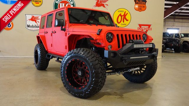 2015 Jeep Wrangler Unlimited Rubicon 4X4 CUSTOM SPRAY,LIFTED,LED'S,LTH