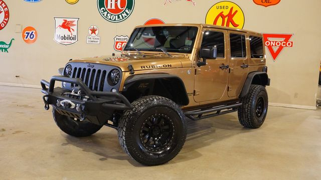 2015 Jeep Wrangler Unlimited Rubicon 4X4 LIFTED,BUMPERS,LED'S,HTD LTH,29K