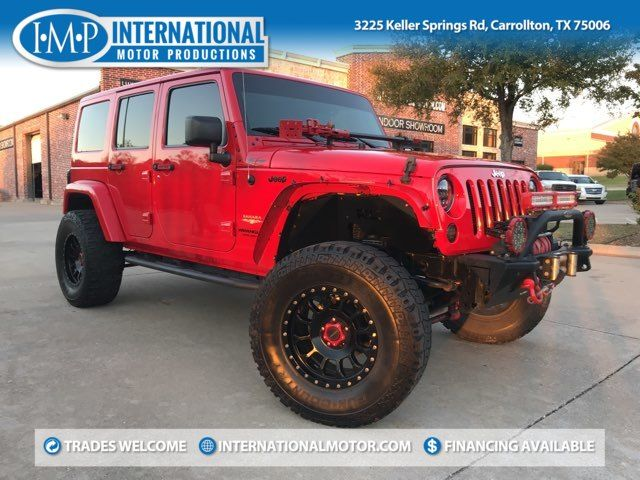 2015 Jeep Wrangler Unlimited Sahara in Carrollton, TX 75006