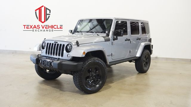 2015 Jeep Wrangler Unlimited Altitude 4X4 AUTO,LIFTED,NAV,HTD LTH,LEDS,67K