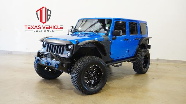 2015 Jeep Wrangler Unlimited Rubicon 4X4 HEMI,LIFTED,BUMPERS,FUEL WHLS,38K