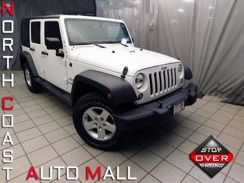 2015 Jeep Wrangler Unlimited Sport in Cleveland, Ohio
