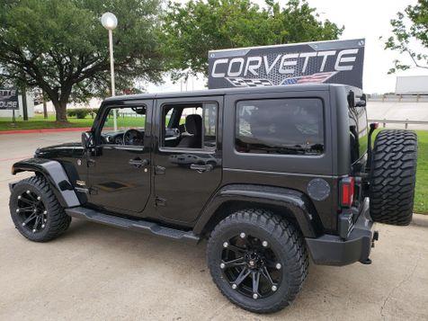 2015 Jeep Wrangler Unlimited Sahara Auto, CD, Ballistic Black Alloys 65k! | Dallas, Texas | Corvette Warehouse  in Dallas, Texas