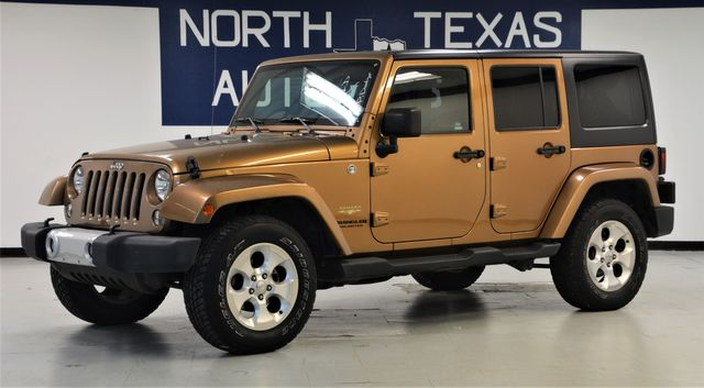 2015 Jeep Wrangler Unlimited Sahara 1 owner in Dallas, TX 75247