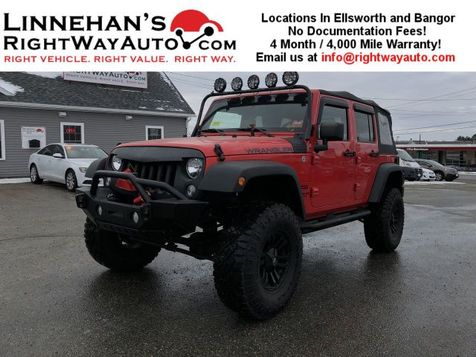 2015 Jeep Wrangler Unlimited Sport in Bangor