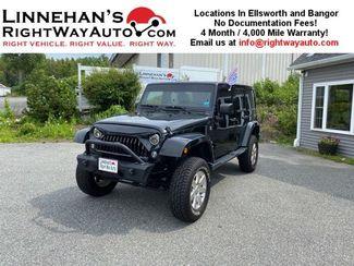 2015 Jeep Wrangler Unlimited Sahara in Bangor, ME 04401