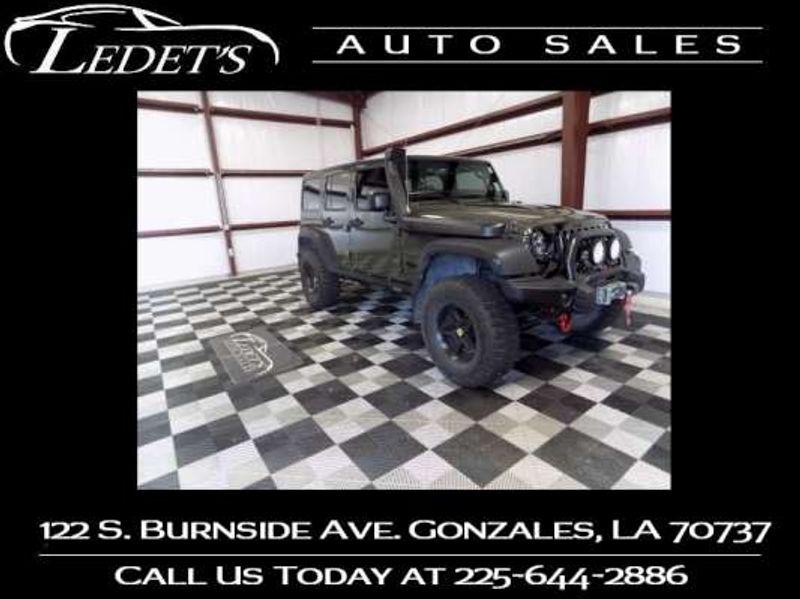 2015 Jeep Wrangler Unlimited Willys Wheeler - Ledet's Auto Sales Gonzales_state_zip in Gonzales Louisiana