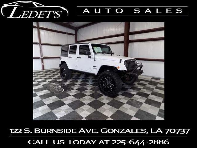 2015 Jeep Wrangler Unlimited Freedom Edition - Ledet's Auto Sales Gonzales_state_zip in Gonzales