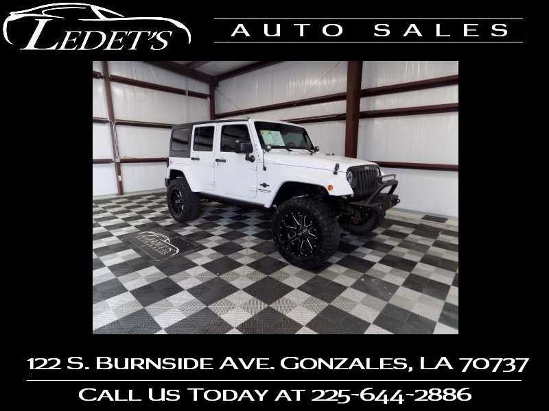2015 Jeep Wrangler Unlimited Freedom Edition - Ledet's Auto Sales Gonzales_state_zip in Gonzales Louisiana
