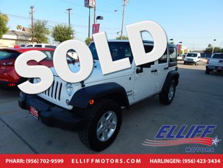 2015 Jeep Wrangler Unlimited Sport 4X4 in Harlingen, TX 78550