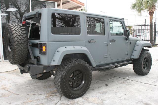 2015 Jeep Wrangler Unlimited Sport Custom Houston, Texas 3
