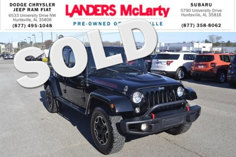 2015 Jeep Wrangler Unlimited Rubicon Hard Rock | Huntsville, Alabama | Landers Mclarty DCJ & Subaru in Huntsville Alabama