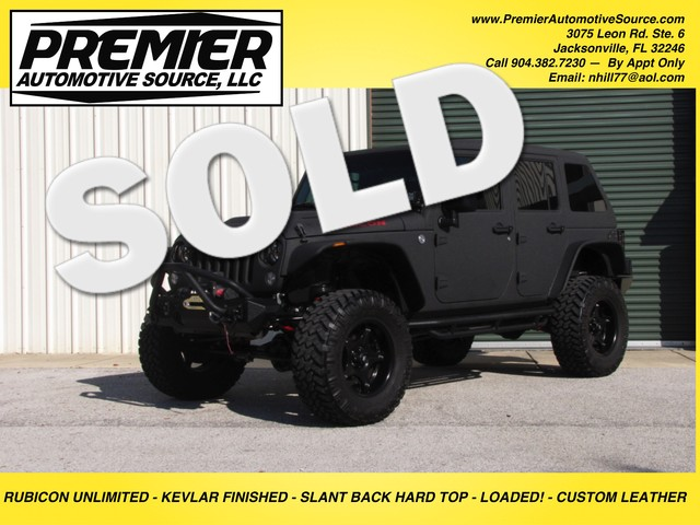 2015 Jeep Wrangler Unlimited Rubicon Jacksonville , FL 0