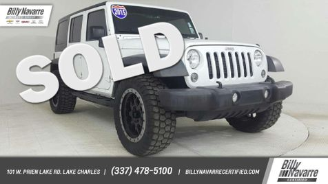 2015 Jeep Wrangler Unlimited Sport in Lake Charles, Louisiana