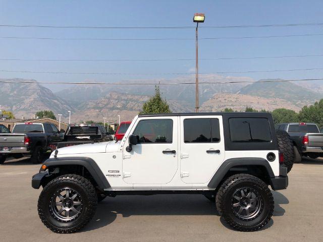 2015 Jeep Wrangler Unlimited Sport LINDON, UT 2