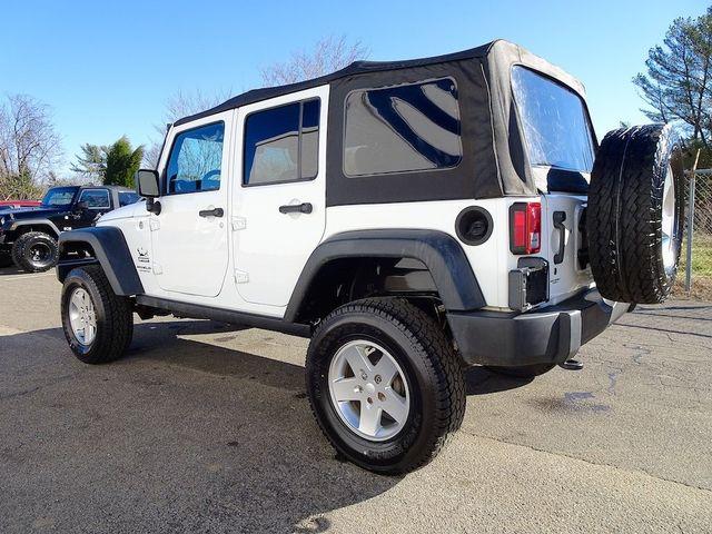 2015 Jeep Wrangler Unlimited Sport Madison, NC 4