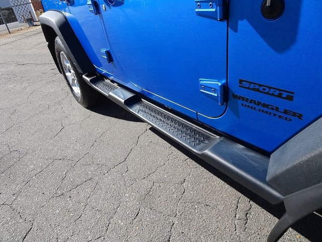 2015 Jeep Wrangler Unlimited Sport RHD Madison, NC 11