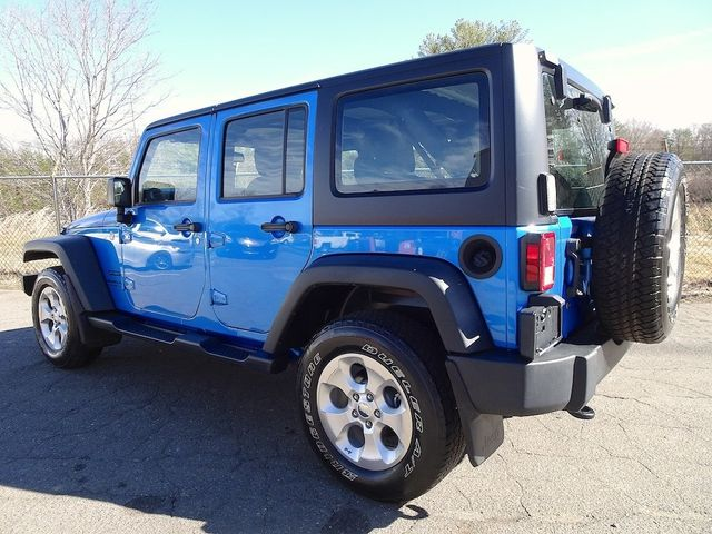 2015 Jeep Wrangler Unlimited Sport RHD Madison, NC 4