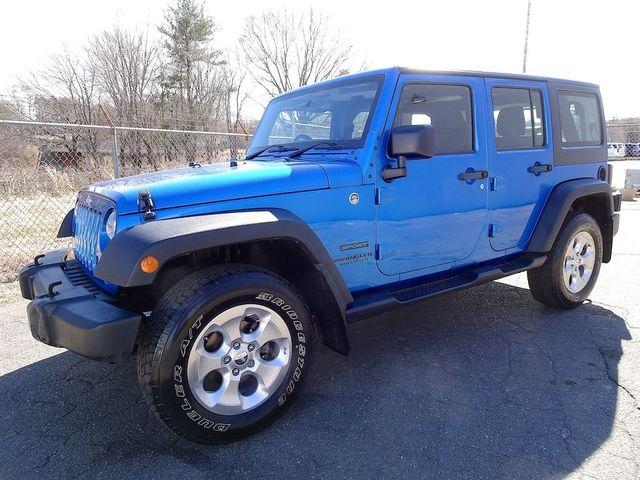 2015 Jeep Wrangler Unlimited Sport RHD Madison, NC 6