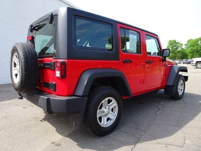 2015 Jeep Wrangler Unlimited Sport RHD Madison, NC 2