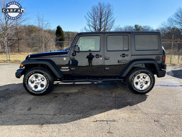 2015 Jeep Wrangler Unlimited Sport Madison, NC 4