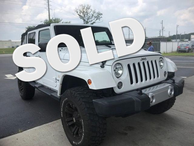 2015 Jeep Wrangler Unlimited Sahara Madison, NC
