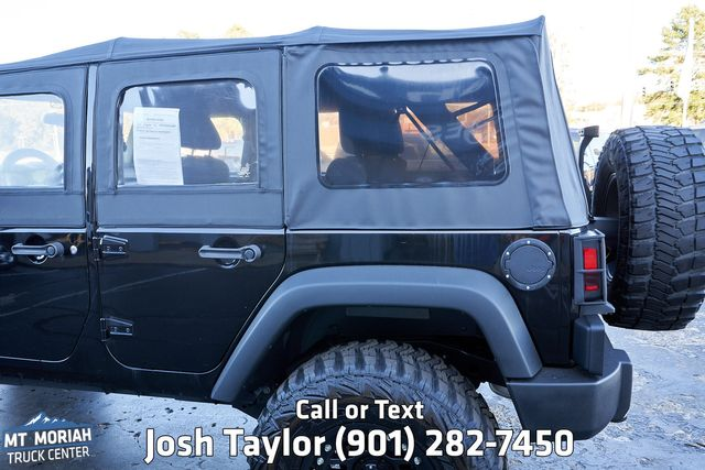 2015 Jeep Wrangler Unlimited Sport in Memphis, Tennessee 38115