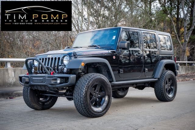 2015 Jeep Wrangler Unlimited Rubicon 2 TOPS LEATHER LIFTED