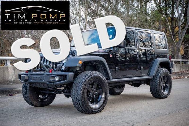 2015 Jeep Wrangler Unlimited Rubicon 2 TOPS LEATHER LIFTED   Memphis, Tennessee   Tim Pomp - The Auto Broker in Memphis Tennessee