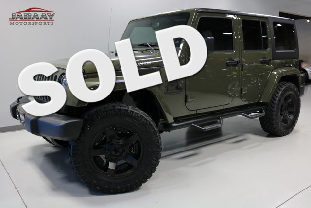 2015 Jeep Wrangler Unlimited Sahara Merrillville, Indiana