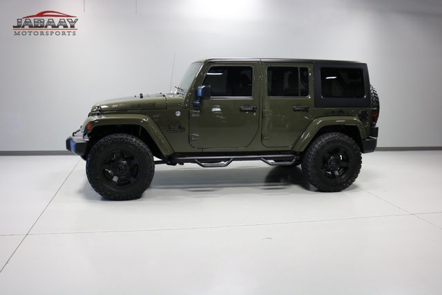 2015 Jeep Wrangler Unlimited Sahara Merrillville, Indiana 34