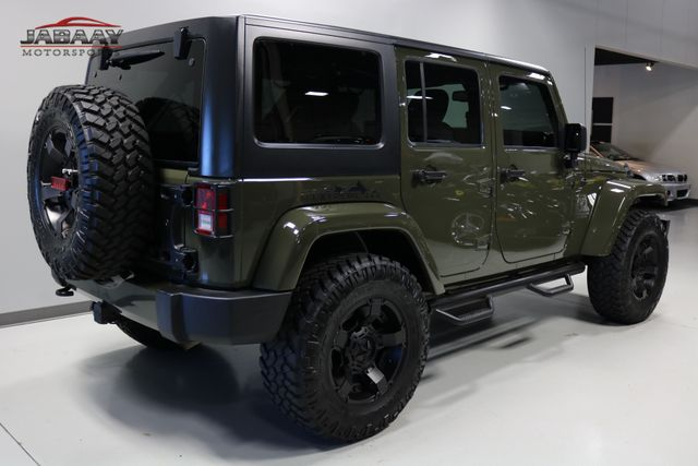 2015 Jeep Wrangler Unlimited Sahara Merrillville, Indiana 4