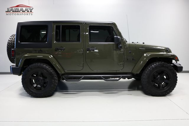 2015 Jeep Wrangler Unlimited Sahara Merrillville, Indiana 5