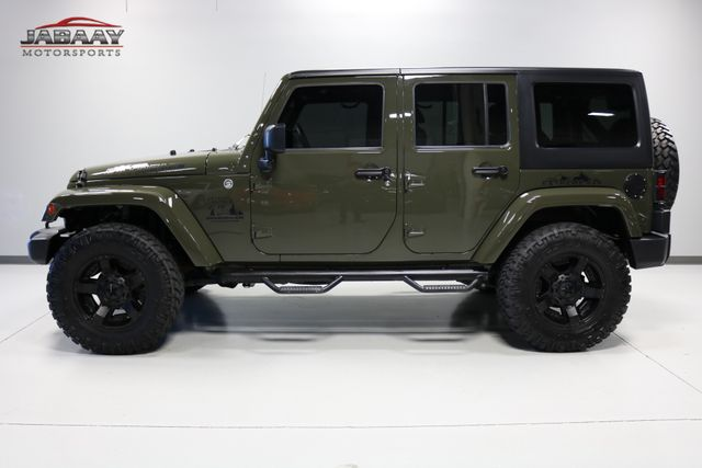2015 Jeep Wrangler Unlimited Sahara Merrillville, Indiana 1