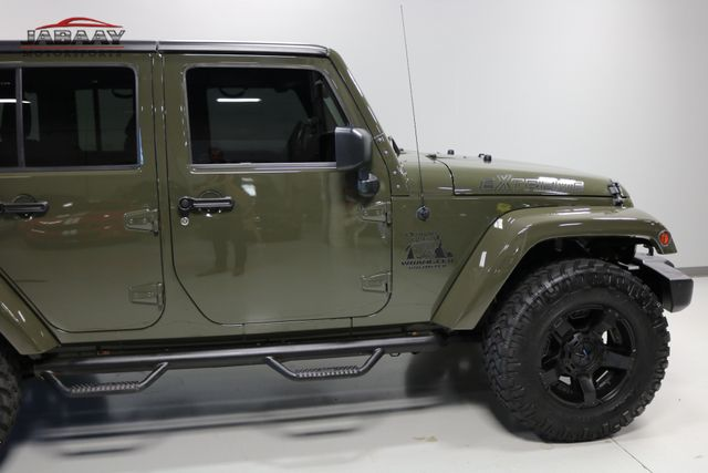 2015 Jeep Wrangler Unlimited Sahara Merrillville, Indiana 38