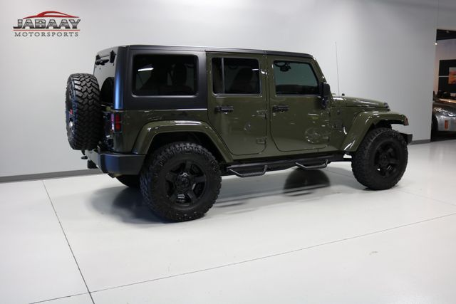 2015 Jeep Wrangler Unlimited Sahara Merrillville, Indiana 39