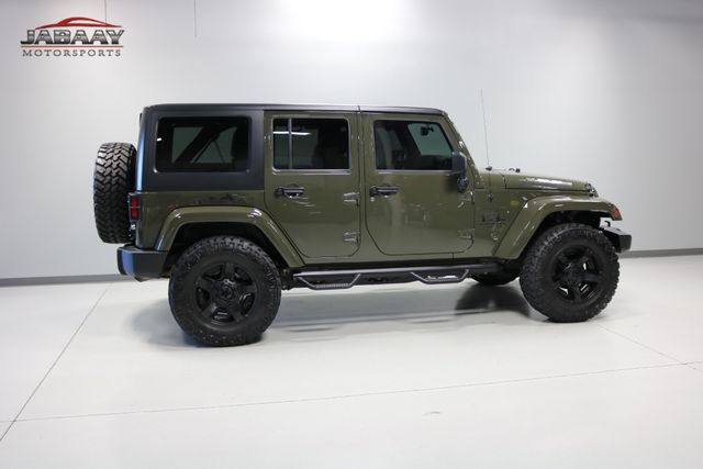 2015 Jeep Wrangler Unlimited Sahara Merrillville, Indiana 40