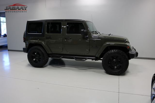 2015 Jeep Wrangler Unlimited Sahara Merrillville, Indiana 42