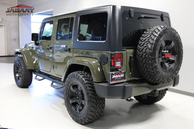 2015 Jeep Wrangler Unlimited Sahara Merrillville, Indiana 2