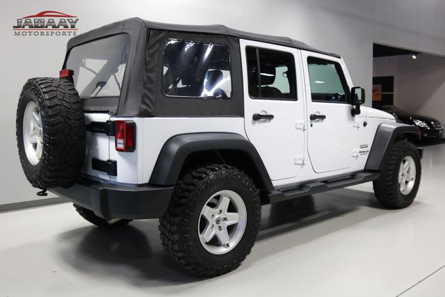 2015 Jeep Wrangler Unlimited Sport Merrillville, Indiana 4