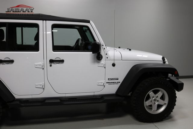 2015 Jeep Wrangler Unlimited Sport Merrillville, Indiana 36