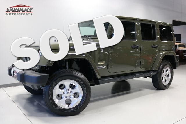 2015 Jeep Wrangler Unlimited Sahara Merrillville, Indiana 0